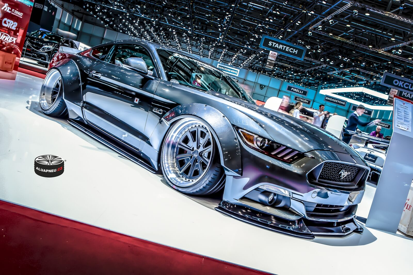 Ford Mustang Liberty Walk