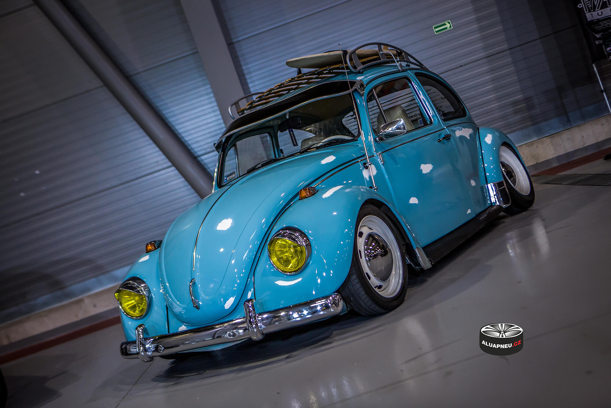 Volkswagen Beetle young timer Prague Car Festival 2018
