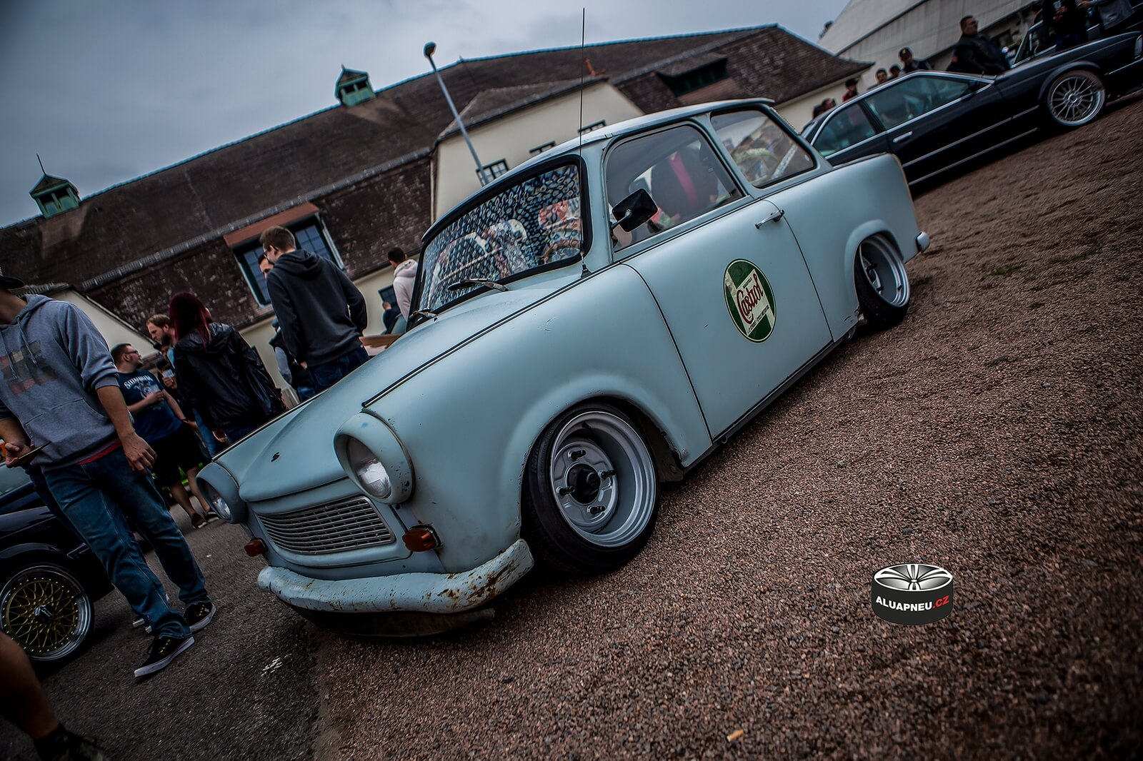 Trabant Stance - tuning show Dresden