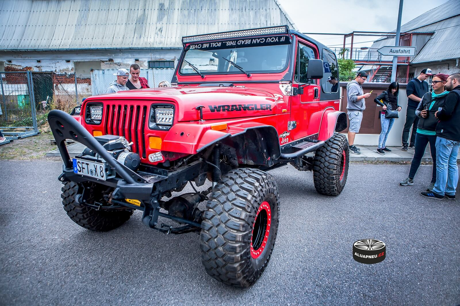 Off Road alu disky Jeep Wrangler beadlock system - tuning Dresden