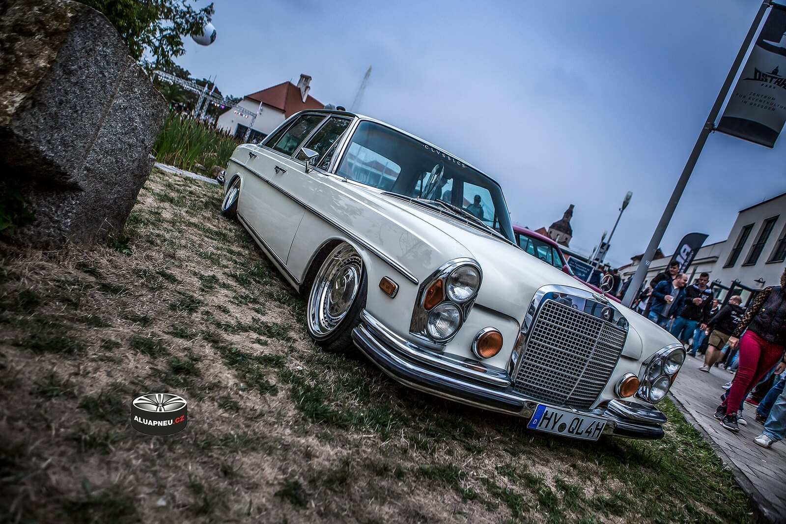 Disky Mercedes Youngtimer Tuning Xs CarNight