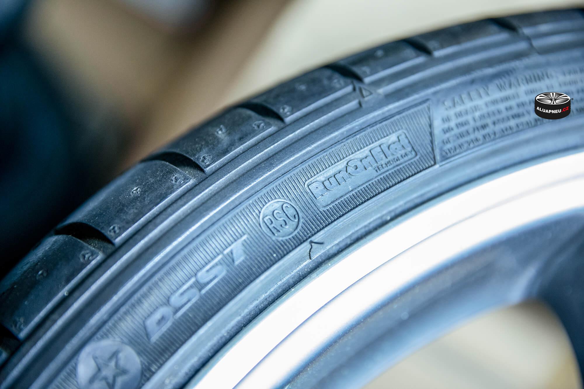 Označení runflat pneumatik