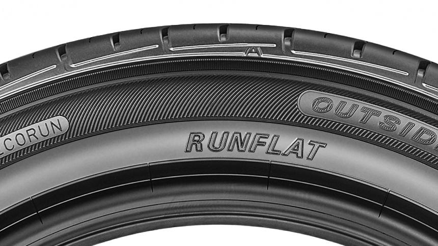 Označení RunFlat pneumatiky