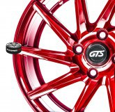 Litá kola Gts Wheels Racing Red limited 4x100 15""
