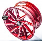 Alu disky Gts Wheels Racing Red limited 4x100 15""