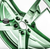 Litá kola SPEEDS MOTORSPORT 172 GREEN 5x112 19""