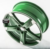 Elektrony SPEEDS MOTORSPORT 172 GREEN 5x112 19""