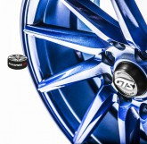 Litá kola Gts Wheels Blue Limited 4x98 15""
