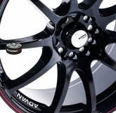 Litá kola ADVAN RACING RZ BLACK 5x112 15""
