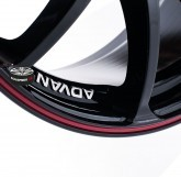 Alu disky ADVAN RACING RZ BLACK 5x112 15""