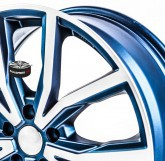 Alu disky SPEEDS MOTORSPORT 171 BLUE 5x112 19""