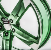 Alu disky SPEEDS MOTORSPORT 172 GREEN 5x110 19""