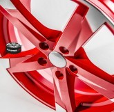 Elektrony SPEEDS MOTORSPORT 172 RED 5x112 19""
