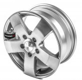Litá kola WHEELWORLD model WH4 SILVER 5x114.3 15""