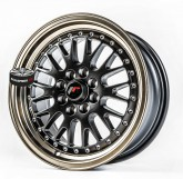 Elektrony JAPAN RACING model JR10 BLACK BRONZE 4x100 16""