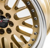 Elektrony JAPAN RACING model JR10 GOLD 4x108 16""