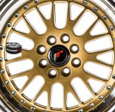 Alu disky JAPAN RACING model JR10 GOLD 4x108 16""