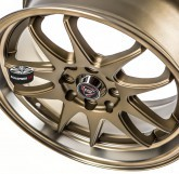 Alu disky REPLICA model 0081 BRONZE 4x100 16""