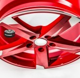 Alu disky SPEEDS MOTORSPORT 172 RED 5x120 17""
