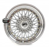 Alu disky JAPAN RACING JR9 SILVER 4x100 16""