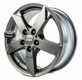 Alu disky RIAL model KODIAK GREY 5x112 17""