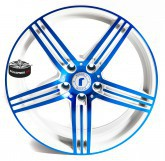 Litá kola SPEEDS MOTORSPORT B61 BLUE 5x120 19""