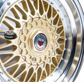 Alu disky RSW RACING 879 GOLD 4x100 16""