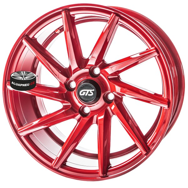 Alu kola Gts Wheels Racing Red limited 4x98 15""