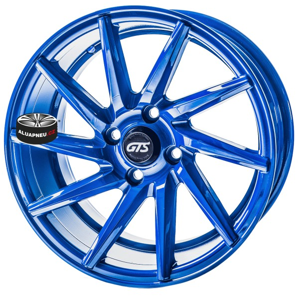 Alu kola Gts Wheels Blue Limited 4x98 15""