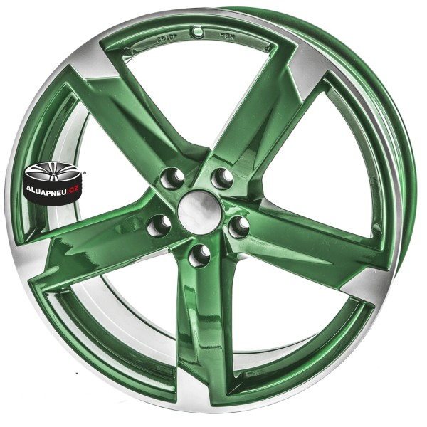 Alu kola SPEEDS MOTORSPORT 172 GREEN 5x112 19""