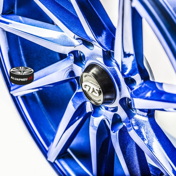 Gts Wheels Blue Limited 11262