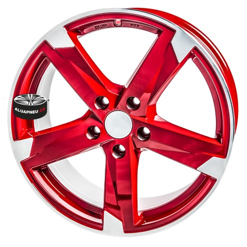 Alu kola SPEEDS MOTORSPORT 172 RED 5x120 17""