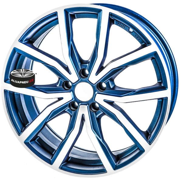 Alu kola SPEEDS MOTORSPORT 171 BLUE 5x112 19""