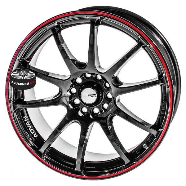 Alu kola ADVAN RACING RZ BLACK 4x100 15""
