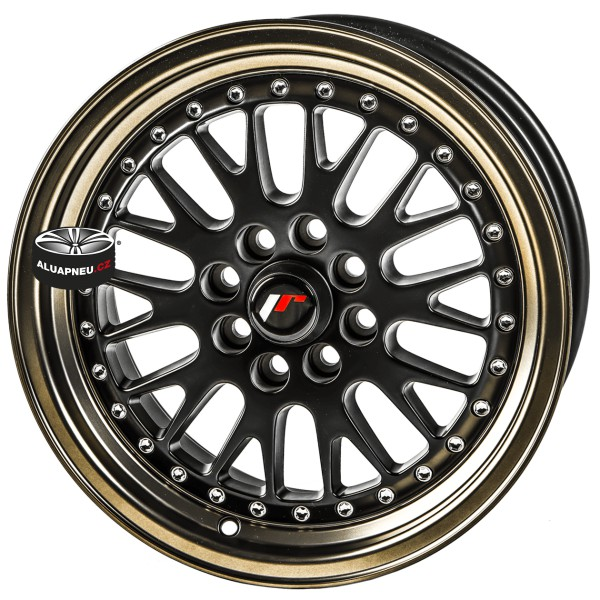 Alu kola JAPAN RACING model JR10 BLACK BRONZE 4x100 16""