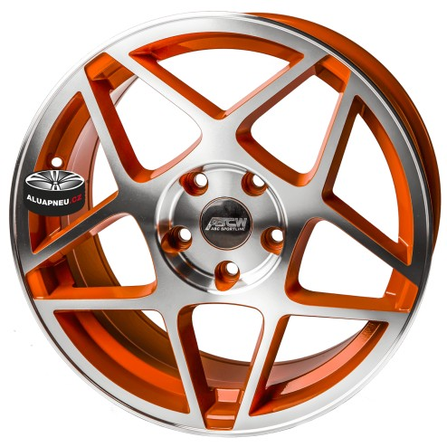 Alu kola ABCWheels INDIANAPOLIS ORANGE 5x114.3 17""