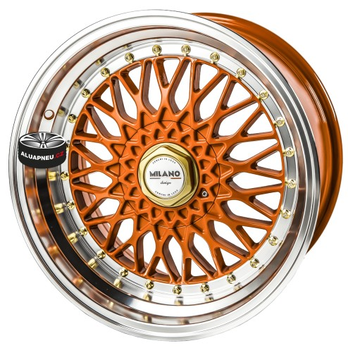 Alu kola MILANO DESIGN RICCARDO ORANGE LIMITED 5x98 17""