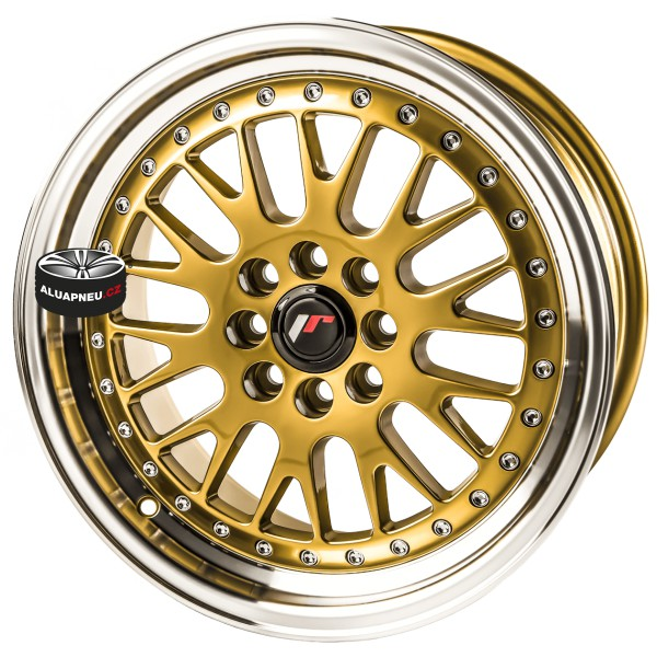 Alu kola JAPAN RACING model JR10 GOLD 4x108 16""