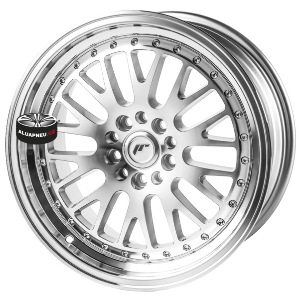 Alu kola JAPAN RACING model JR10 SILVER 5x120 17""