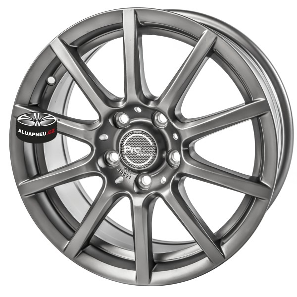 Alu kola Proline model CX 100 Grey 4x100 15""