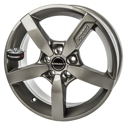 Alu kola BORBET model T1 GREY 5x114.3 16""