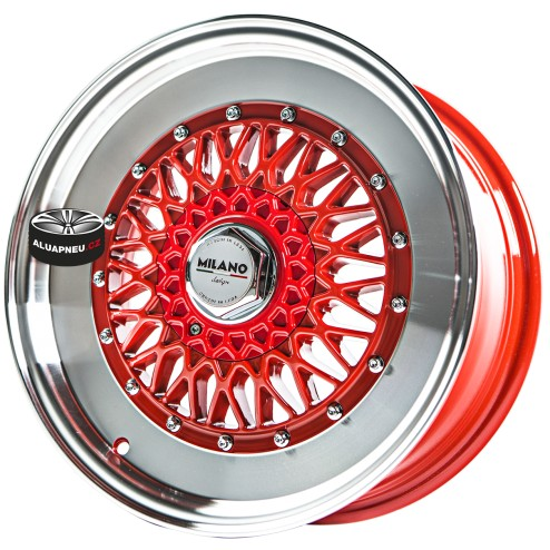 Alu kola MILANO DESIGN model RICCARDO RED 4x114.3 16""