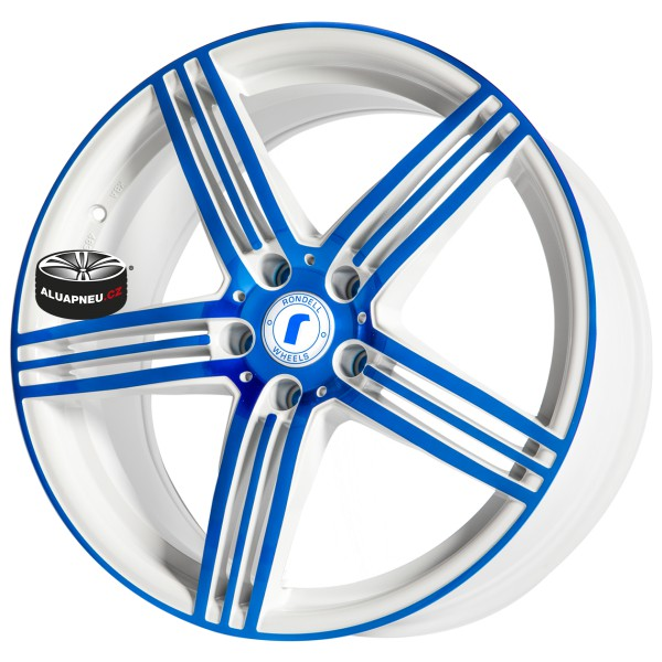 Alu kola SPEEDS MOTORSPORT B61 BLUE 5x120 19""