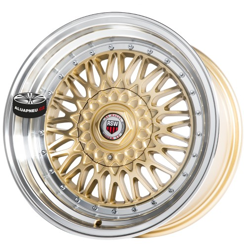 Alu kola RSW RACING 879 GOLD 4x100 16""