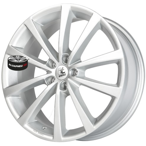 Alu kola IT WHEELS model ALICE SILVER 5x108 16""