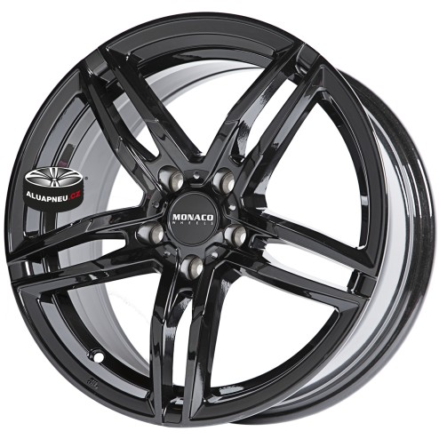 Alu kola MONACO model GP1 BLACK 5x120 19""