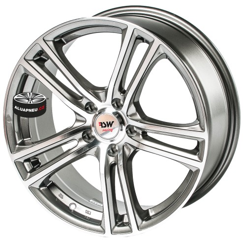 Alu kola RSW RACING 242 GREY 5x100 17""