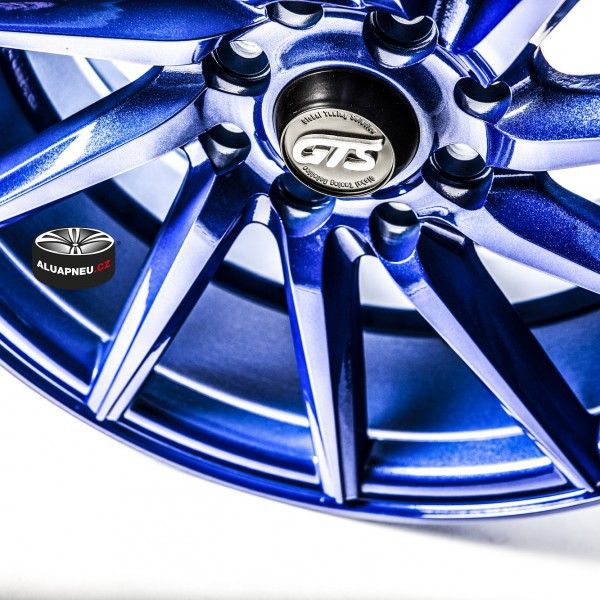 Gts Wheels Blue Limited 10600