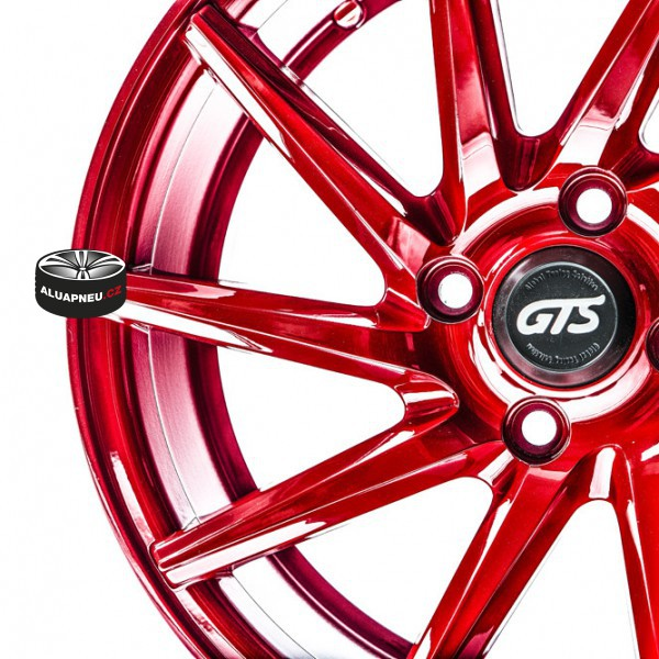 Gts Wheels Racing Red limited 11252