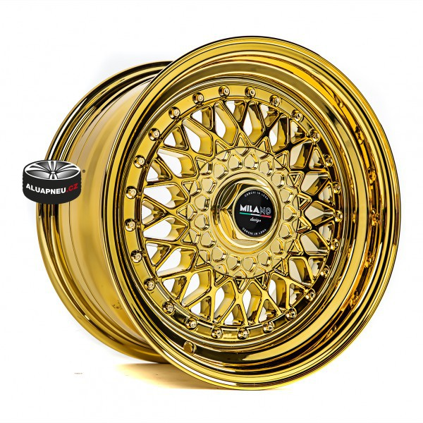 MILANO DESIGN model RICCARDO CHROME GOLD 28814